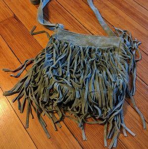 Boho fringe Brampton London purse